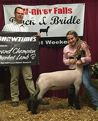 Wisconsin Show Lamb Results